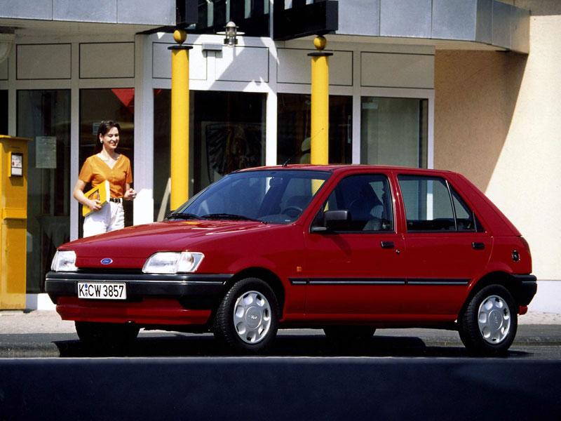 Mejor Coche del Año en España 1990 Ford Fiesta