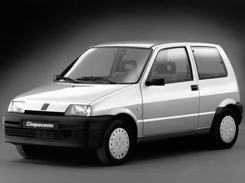 Mejor Coche del Año en España 1993 Fiat Cinquecento