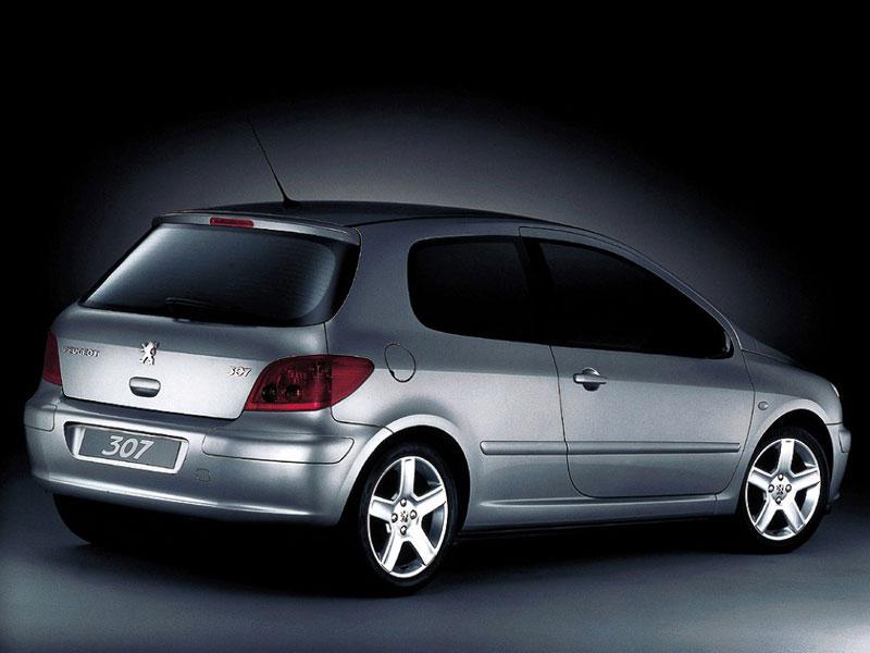 Mejor Coche del Año en España 2002 Peugeot 307