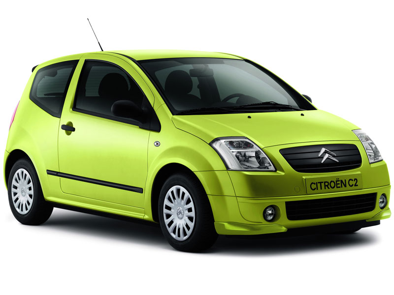 Mejor Coche del Año en España 2004 Citroën C2