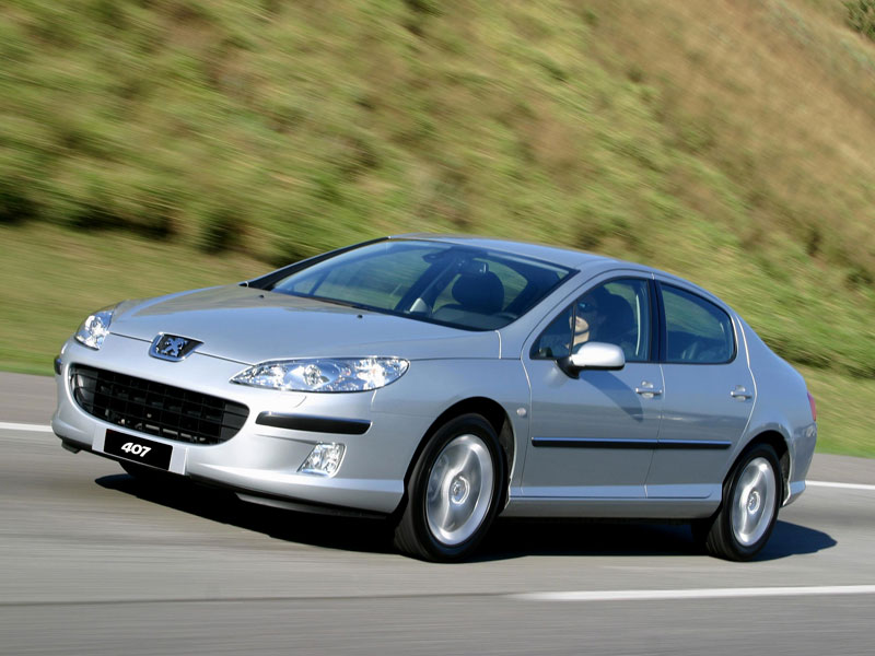 Mejor Coche del Año en España 2005 Peugeot 407