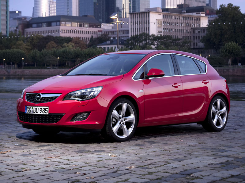 Mejor Coche del Año en España 2010 Opel Astra