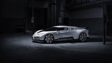 Primeras imágenes del Bugatti Centodieci, el último capricho de Cristiano Ronaldo que recibirá en 2022