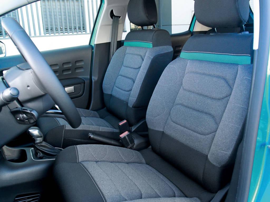 El Citroën C3 se postula como el más cómo de los tres y el más urbano.