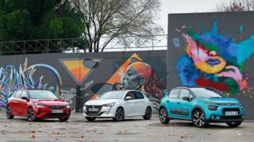 Comparativa de Urbanos, Opel Corsa Vs. Peugeot 208 Vs. Citroën C3