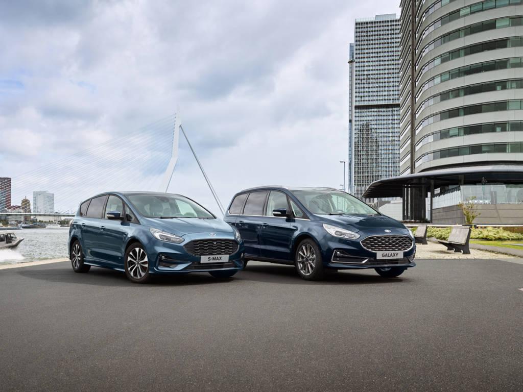 El Ford Galaxy Hybrid 2021 estará disponible solo con acabado Titanium mientras que el S-Max Hybrid lo estará con paquetes Trend y Titanium