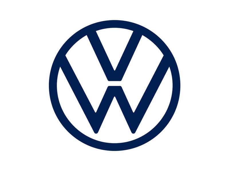 Una nueva era ha comenzado para Volkswagen con una ligera estilización de su logo.