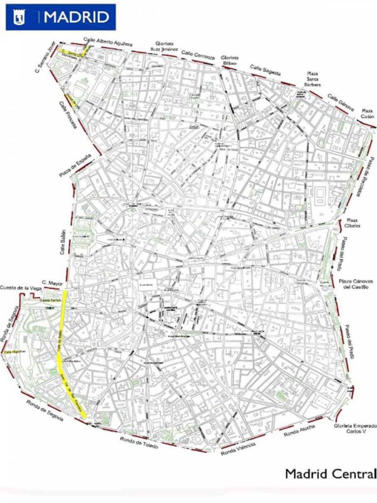 Madrid Central cuenta con una extensión superior a 200 hectáreas.
