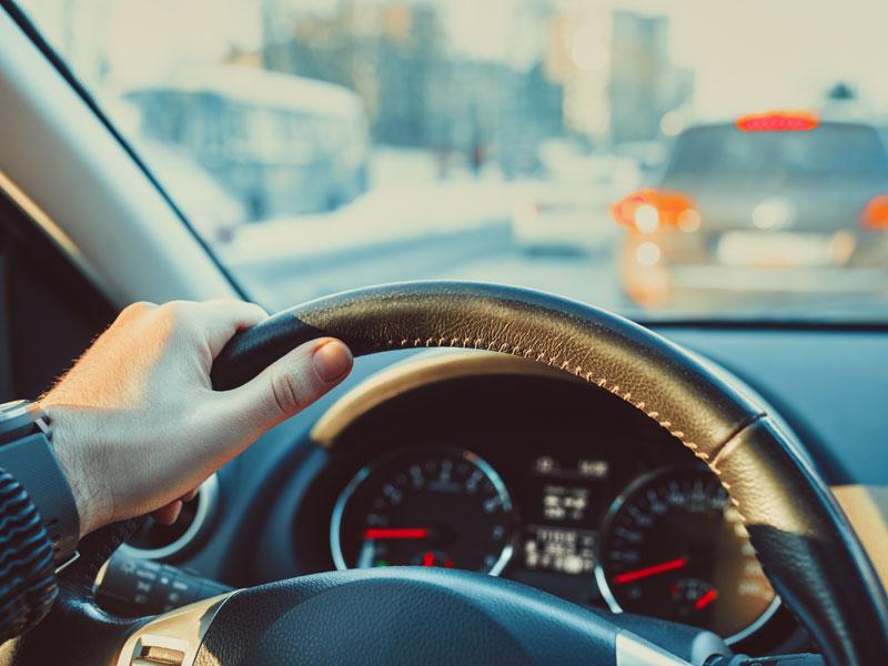 El modo en el que se ha manejado el volante