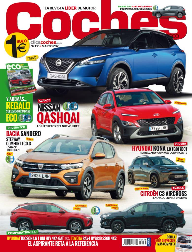 El Nissan Qashqai es el principal protagonista de nuestro último número de la revista Coches