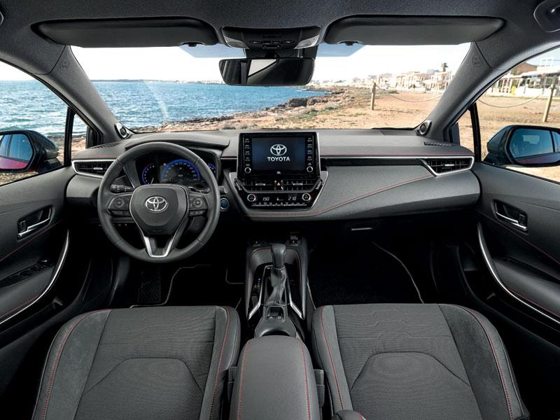 La gama de precios del Toyota Corolla arranca en 21.350 euros.