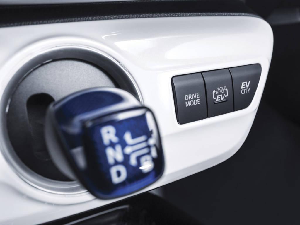 Mantiene el cambiador por variador en el Toyota prius plug-in 2021