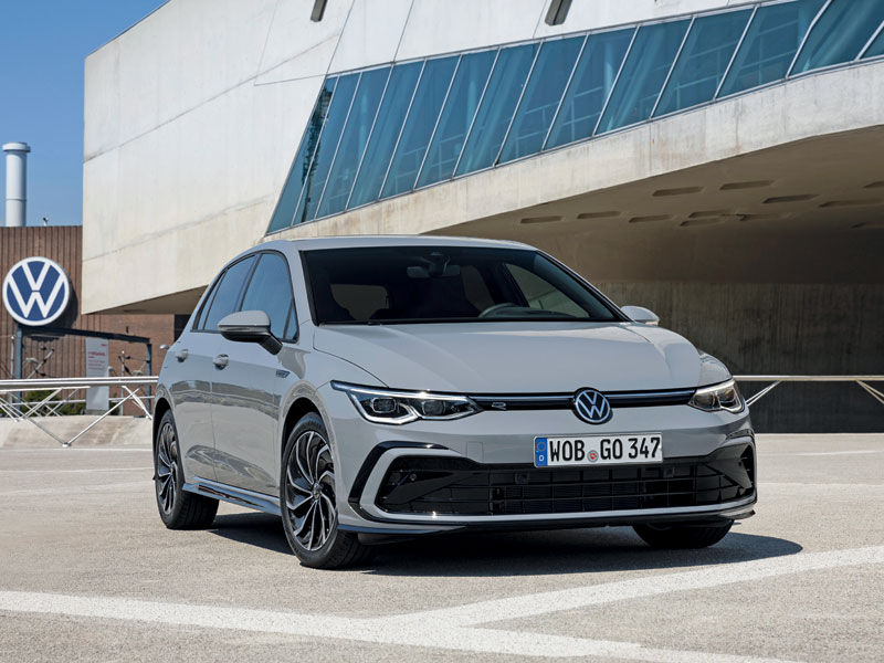 Volkswagen Golf cuenta con una mecánica híbrida ligera para lograr la etiqueta ECO