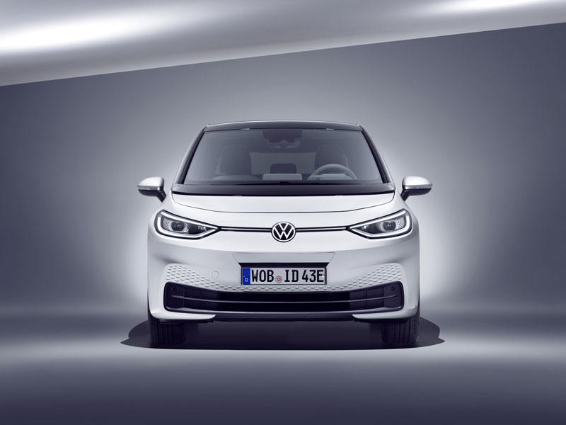 El Volkswagen ID3 estrena la nueva familia de eléctricos ID