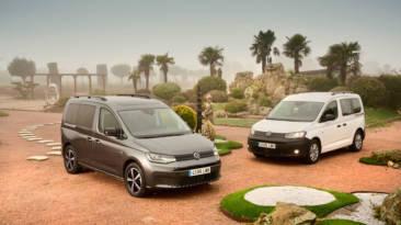 Gama Volkswagen Caddy 2021, modelos Cargo y monovolumen