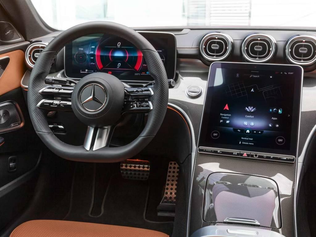 Mercedes-Benz Clase C 2021 interior sistema MBUX