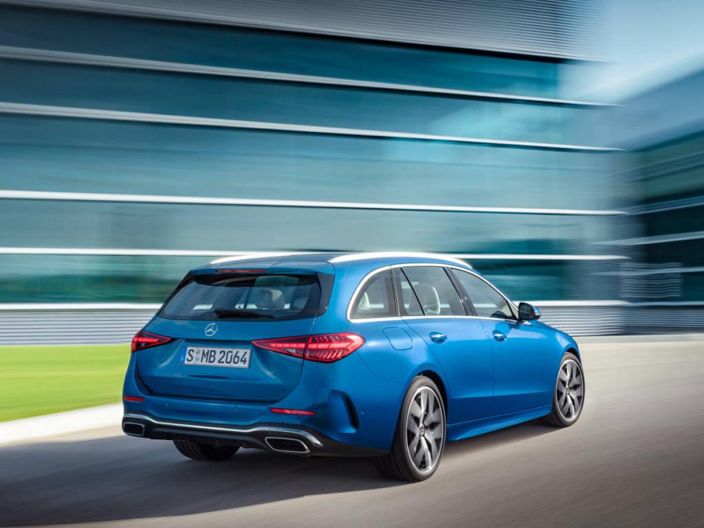 Mercedes-Benz Clase C Estate 2021 en color azul