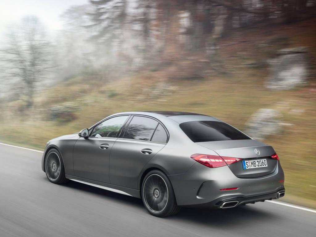 Mercedes Clase C 2021 trasera