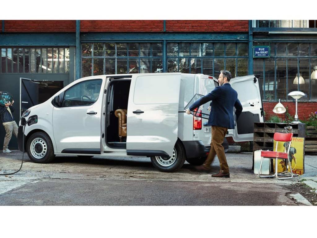 Citroën ë-Jumpy eléctrica puertas laterales