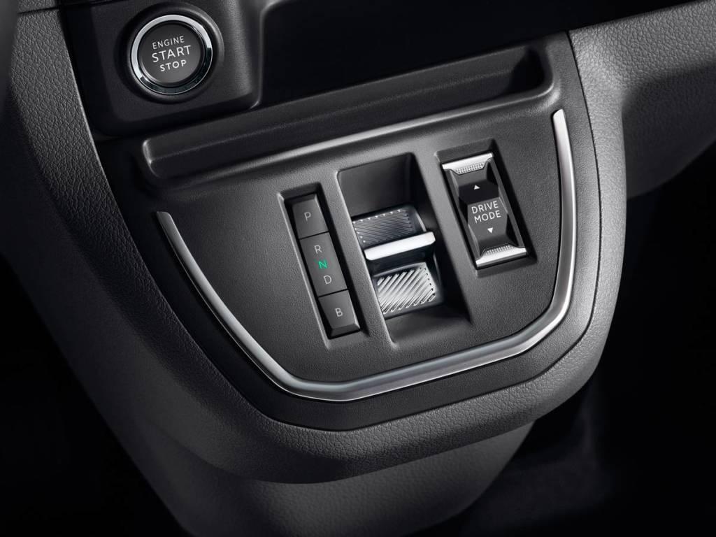 Citroën ë-Jumpy eléctrica selector del cambio