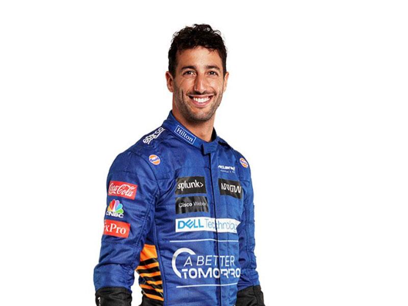 3 Daniel Ricciardo