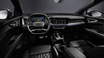 El Audi Q4 e-tron 2021 desvela algunos de sus secretos: interior, tamaño y tecnología empleada