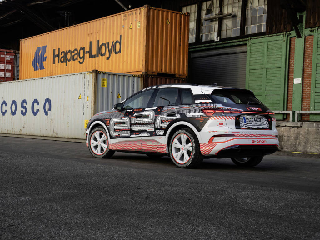 El Audi Q4 e-tron 2021 presume de un amplio interior