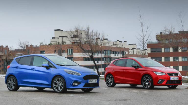 Comparativa: Ford Fiesta MHEV Vs. SEAT Ibiza 1.5 Eco TSI, la ciudad se queda pequeña