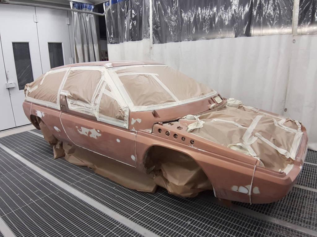 El trabajo de restauración se llevó a cabo en Japón y en Italia
