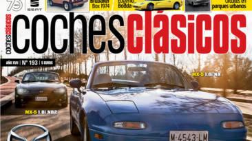 Ya está a la venta el número 193 de la Revista Coches Clásicos