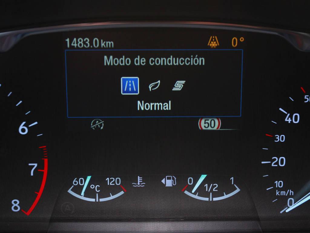 El Fiesta permite varios modos de conducción