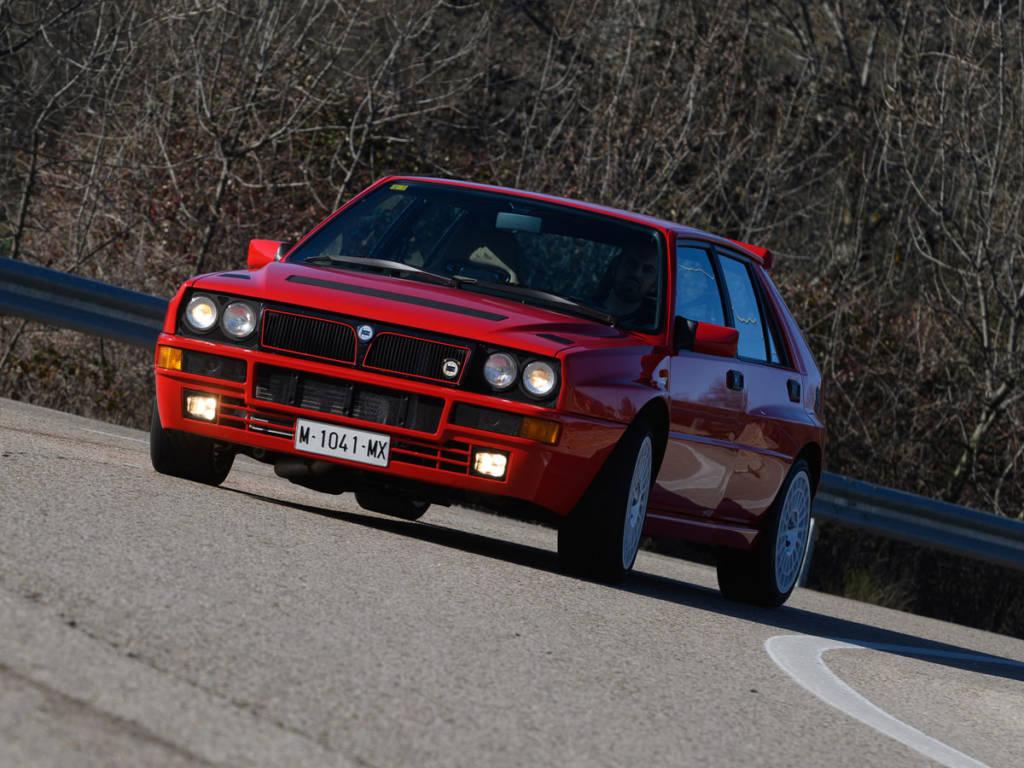 El Lancia Delta sigue siendo uno de los coces favoritos de los amantes de los rallys