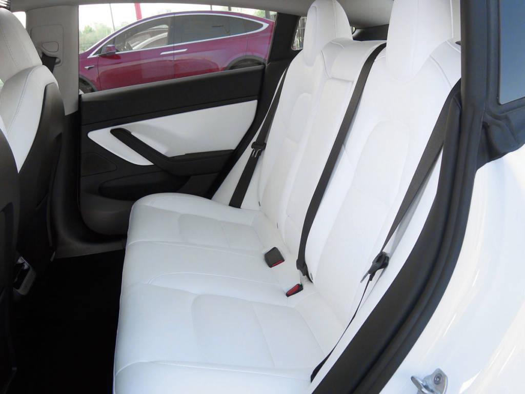 Los asientos traseros son realmente cómodos