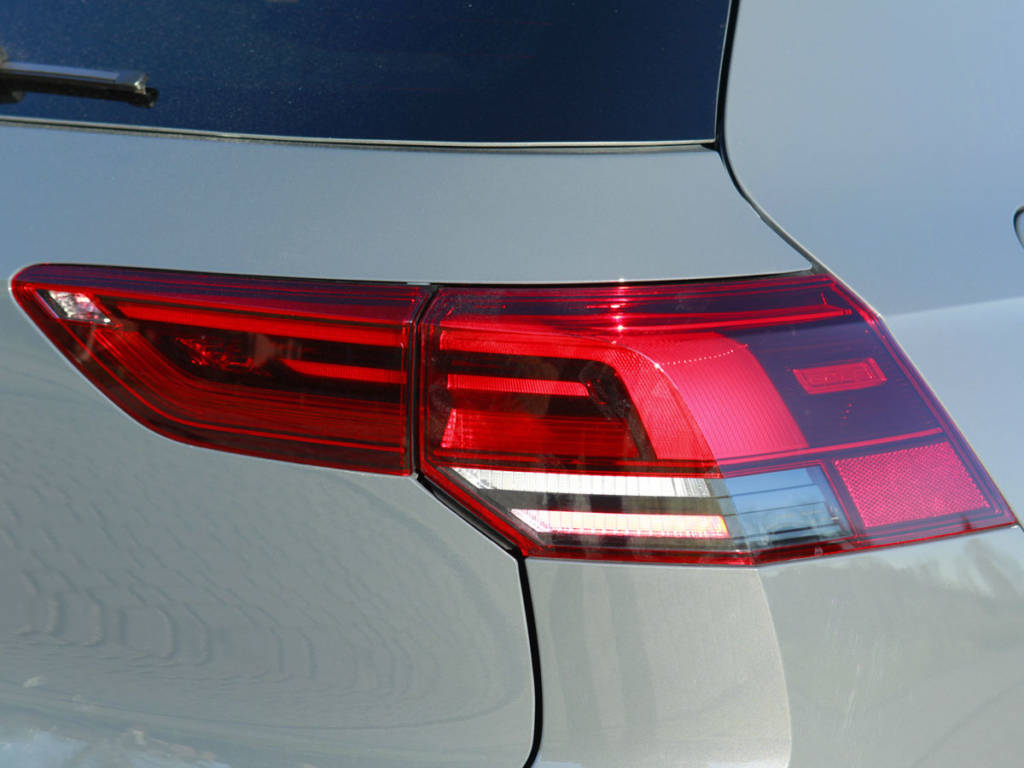 Ópticas traseras del Volkswagen Golf 2021