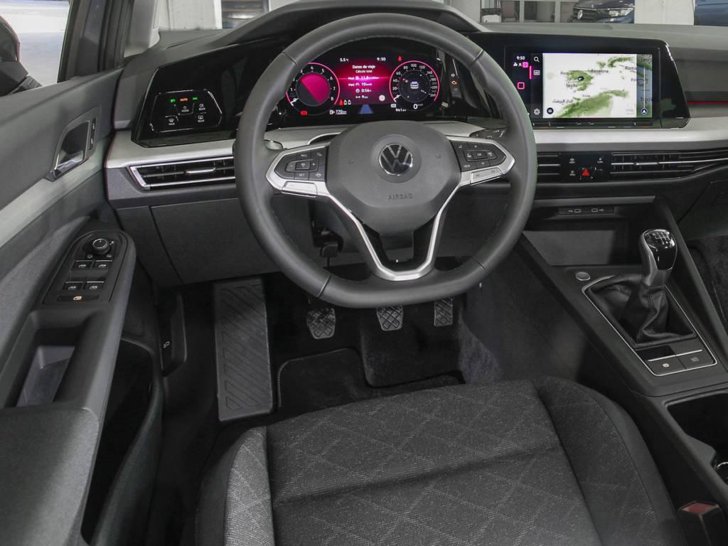 El Volkswagen Digital Cockpit de 10,2 pulgadas llega como dotación de serie