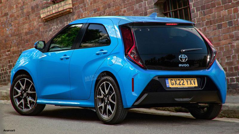 Así podría ser la nueva zaga del Toyota Aygo 2022