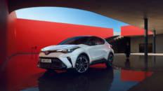 Toyota C-HR Electric Drive 2021, ejemplo de seguridad