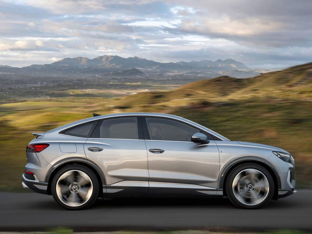 La aerodinámica del Audi Q4 Sportback e-tron es mucho mejor