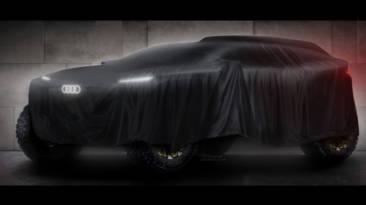 Audi avanza los primeros detalles del coche eléctrico (de autonomía extendida) con el que debutará en el Dakar