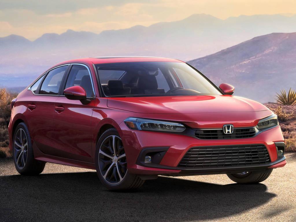 Honda Civic 2022 estática