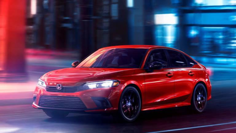 Honda Civic 2022 frontal