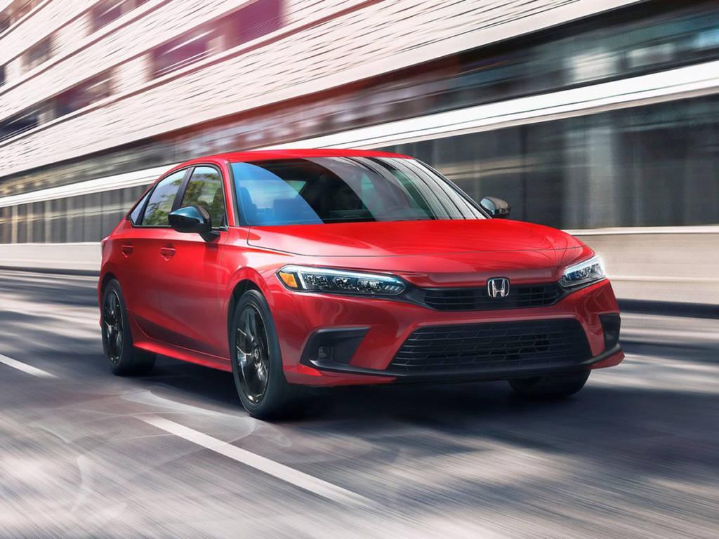 Honda Civic 2022 movimiento