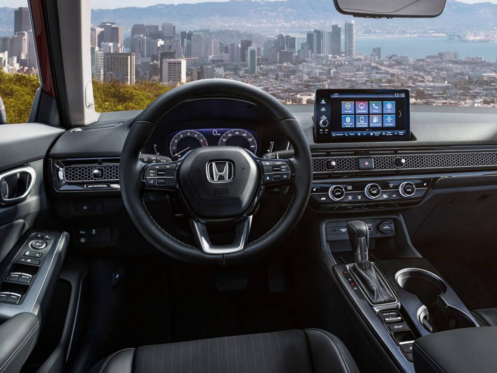 Honda Civic 2022 salpicadero