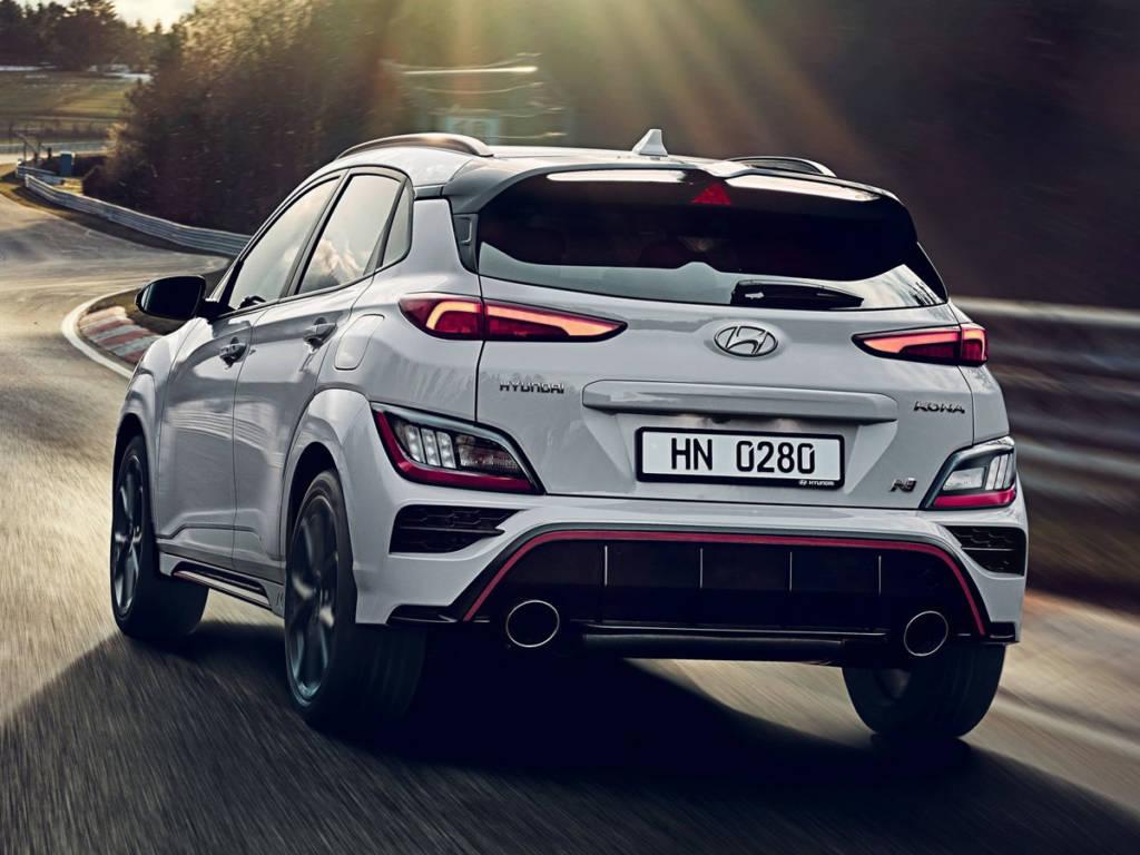 Hyundai Kona N 2021 trasera