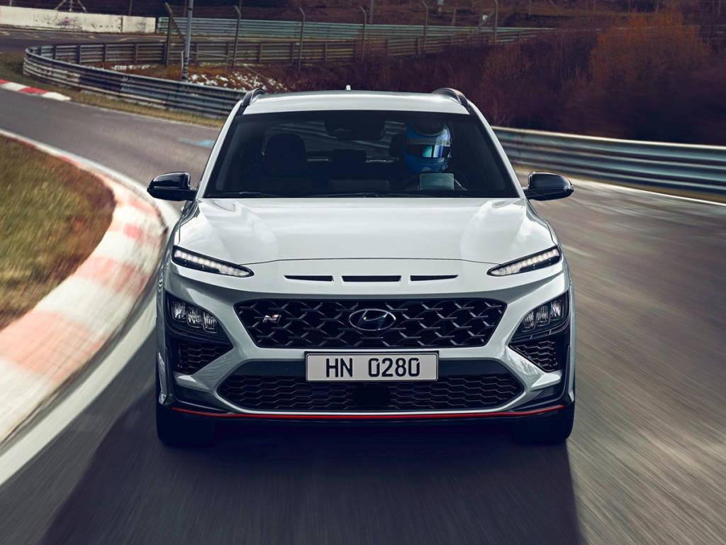 Hyundai Kona N 2021 frontal