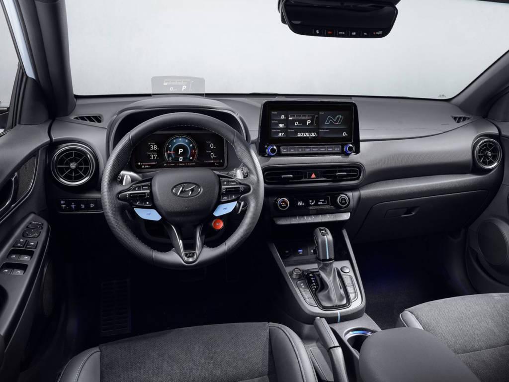 Hyundai Kona N 2021 salpicadero