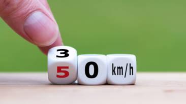 Hoy baja la velocidad máxima de nuestras ciudades a 30 km/h