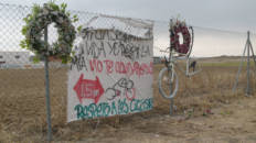 Los 'memoriales en carretera' llegan al mundo digital para conocer la historia que hay detrás de cada homenaje