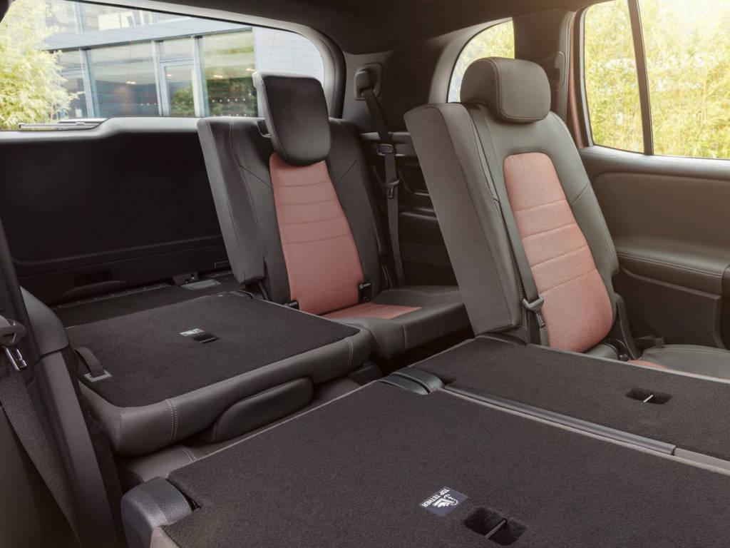 Mercedes-Benz EqB 2021 asientos