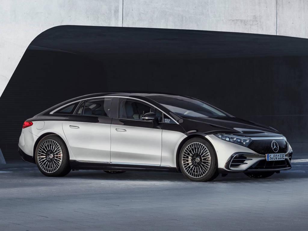 El Mercedes-Benz EQS 2021 mide 5,21 metros